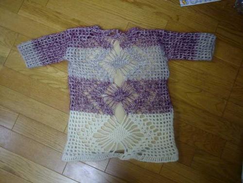 セーターの裏側